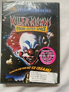 Killer Klowns From Outer Space (DVD, 2001) Brand New Sealed Horror