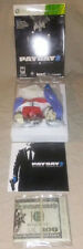 Payday 2 Collector's Collectors Edition (XBOX 360, 2013) Accessory Items ONLY