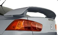 FITS MITSUBISHI LANCER 2008-2012 BOLT ON 2-POST REAR TRUNK SPOILER PAINTED (P)