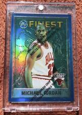 NBA Card 1995-96 Topps MICHAEL JORDAN FINEST Refractors 229 MINT