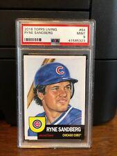 2018 Topps Living Ryne Sandberg Baseball Card #64 PSA 9 Mint