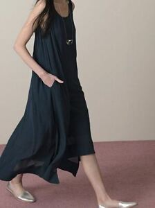 ELK MAXI DRESS - 12 - BLACK - RRP $249 PRELOVED