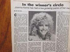Aug. 17-1986 N Y Daily News TV Week Maga(JOANNA  KERNS/GROWING PAINS/ALAN THICKE
