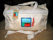 Vintage WILSON Sporting Goods Gym Duffle Bag Tennis Duffle...ONLY ONE ON EBAY