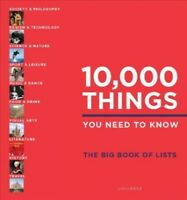10,000 Things You Need to Know : The Big Book of Lists, Hardcover by Beidas, ...