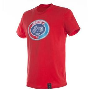 Genuine Dainese Moto 72 T-Shirt Red