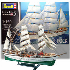 REVELL 1/150 GORCH FOCK KIT 'GERMAN TALL SHIP'