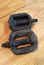 "Vintage MKS Resin 1/2"" PB-21 BMX Pedals Made in Japan Old School"