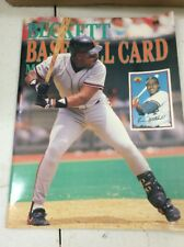 Beckett Baseball Magazine Monthly Price Guide Kevin Mitchell August 1989
