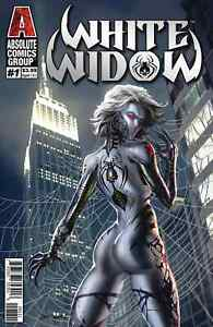 WHITE WIDOW 1 A 1st PRINT COVER A SILVER FOIL JAMIE TYNDALL SOLD OUT
