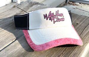 """Waffle House Princess"" Realtree Visor  New unused  Pink and Black"