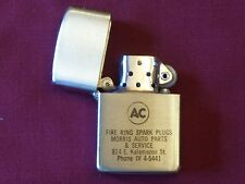 Vintage Cigarette Lighter AC Fire Ring Spark Plugs Kalamazoo MI Wellington Unuse