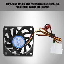Computer Cooling Fan Ultra-Quiet Design 4Pin/3Pin DC12V 6CM Mute CPU Heatsink