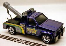 Matchbox 1980s GMC 3500 Tow Truck Purple w/Yellow Star Logo 1:72 Scale