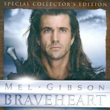 Braveheart 1995 medieval war R movie, new 2-disc Dvd Special Edition, Mel Gibson