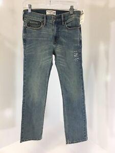 Abercrombie Kids Boys Straight Leg Jeans Size 13/14 NWT