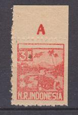 Japanese occupation Sumatra 29 MNH partially imperforate  Japanse bezetting