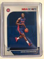 2019-20 Panini NBA Hoops Sekou Doumbouya RC Detroit Pistons