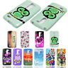 New Pattern Soft Rubber Silicone Glossy Back Case Cover For LG Mobile Phones
