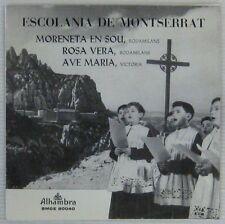 Escolania de Montserrat 45 tours Espagne 1963