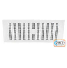 22.9cm x Blanco Hit & Miss Ventilación ajustable rejilla Cubierta Caravana
