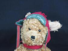 HALLMARK CHRISTMAS RED FLAP HAT PUPPY DOG PLUSH STUFFED ANIMAL BUDDY HOLIDAY