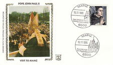 1980 POPE JOHN PAUL II MAINZ GERMANY VISIT POSTAL COVER