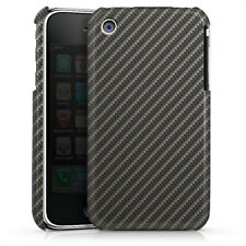 Apple iPhone 3Gs Premium Case Hülle Cover - Carbon