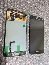 New Black Samsung Galaxy S5 G900A LCD Screen Digitizer Home Adhesive Light SBI ~
