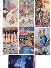 FIGURINE CARDS DC COMICS VERTIGO 1994 - LOTTO 7 PEZZI DIVERSI