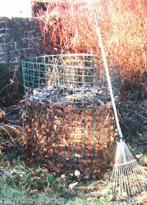 New Jumbo Leaf Mould (540L) Compost Bin Compost Leaves Easily