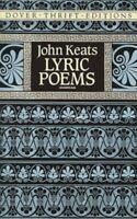Lyric Poems Paperback John Keats