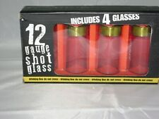 SET OF 12 GAUGE SHOT GLASSES MIB