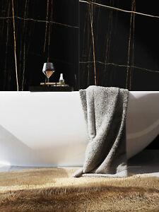 SAMPLE of £25.20/m2 Super Black Marble High Gloss 120x60cm Porcelain Tiles