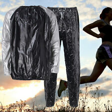 Heavy Duty Sweat Sauna Suit Gym Fitness Exercise Fat Burn Weight Loss Slimmer