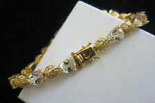 Unbranded Less than 18cm Yellow Gold Fine Bracelets