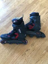K2 Extreme flight, soft boot, in-line skates, mens 10;excellent condition