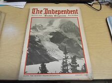 VINTAGE MAGAZINE 1/3/1916 THE INDEPENDENT HARPER'S WEEKLY AD'S,GREAT INFO