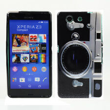 Schutzhülle f Sony Xperia Z3 Compact Case Cover Etui TPU Kamera Fotoapparat
