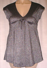 V Neck Semi Fitted Casual Petite Tops & Shirts for Women