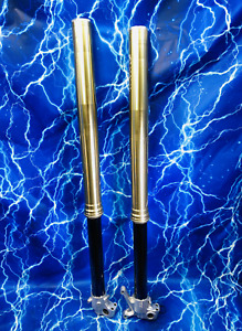 KAWASAKI Front Fork Set Complete suspension SSF Spring 48mm Showa kx 125 250 450