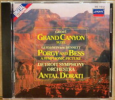 LONDON DIGITAL Grofe GRAND CANYON Gershwin DORATI (CD, W. Germany) 410 110-2