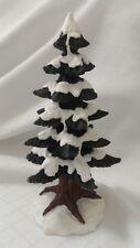 Lefton Colonial Christmas Village 01168 LARGE SNOW TREE (1 piece) C2