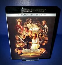 The Princess Bride 4K Ultra Hd Blu Ray * Reversible English Cover * Updated Disc