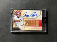 2020 TOPPS LUMINARIES JOHNNY BENCH HIT KINGS AUTOGRAPH AUTO RED #ed 6/10