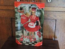 1998 COCA-COLA BARBIE DOLL WAITRESS  CAR HOP COKE  MATTEL #  22831