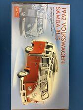 SUNSTAR #5071 1962 VW VOLKSWAGEN SAMBA 23 WINDOW DELUXE BUS 1/12 LIMITED EDITION