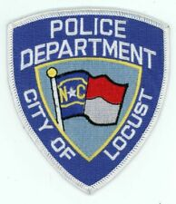 LOCUST POLICE NORTH CAROLINA NC NICE COLORFUL PATCH SHERIFF STYLE 1