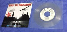 "MODERN TROUBLE (7"") FLY TO MOSCOW (+INSTR) [SYNTH 1987 CHIC **LTD CLEAR VINYL]EX"