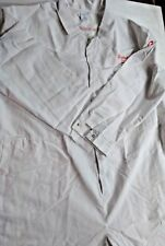 "Alexandra Workwear White Boiler Suit Euro 74 UK 67"" PPE Mechanic Electrician"